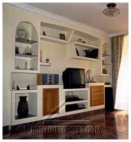 con las placas de pladur puede crearse cualquier tipo de mueble los muebles de pladur permiten crear diseos con un acabado